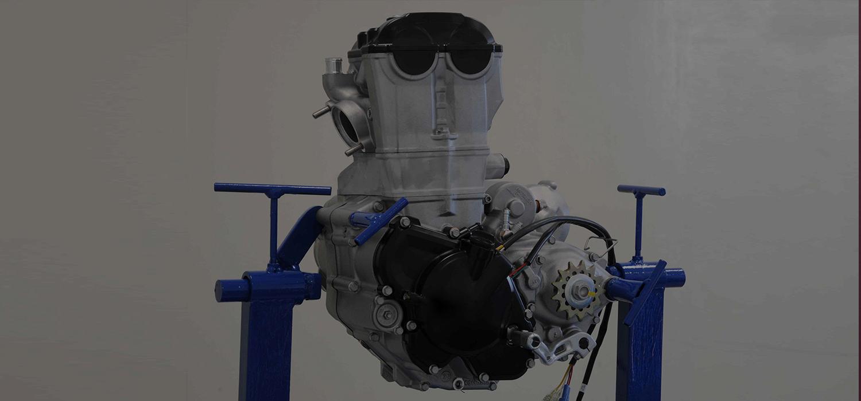 Contribuiamo a realizzare i motori per le motociclette